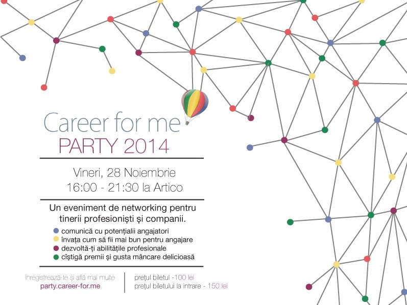 Career For Me Company and Student Party 2014