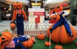 Halloween в тоговом центре Malldova