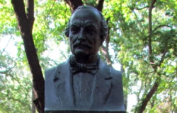 Bust of Alexander Donicha in the Alley of Classics