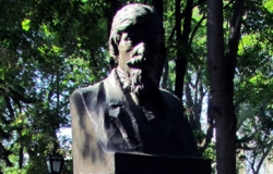 The Bust of Alec Russo in the Alley of Classics