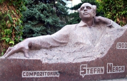 Bust of the composer Stefan Neaga
