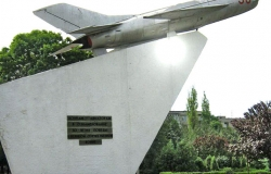 Military Memorial Symbol in Memory of Soldiers - Aviators