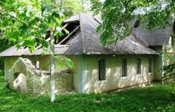 Особняк боярина Мелеги в селе Темелеуць