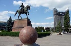 Памятник Г.И. Котовскому
