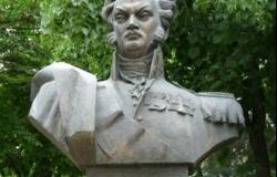 Памятник Орлову Михаилу Федоровичу