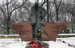 Памятник жертвам еврейского геноцида
