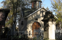 Roman Catholic and Armenian - Gregorian cemeteries