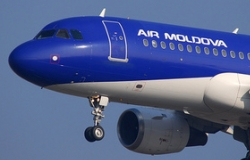 Air Moldova has lowered the price of the Chisinau-London flight
