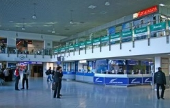 Because of the fog Chisinau airport could not take part of the flights