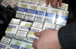 A Moldovan tried to smuggle cigarettes in a car tank