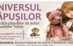 An exhibition of dolls has been opened in Chisinau