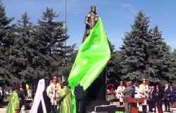 There was inaugurated Stefan cel Mare monument in Criuleni